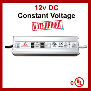 LED Driver DC12V 120W Power Supply 10A cUL Listed