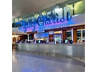 Kitchen staff - Heathrow Airport - The Flying Chariot, Terminal 2 Landside