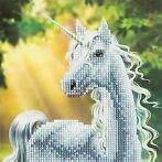 Crystal Card kit diamond painting Sunshine Unicorn 18 x 1...