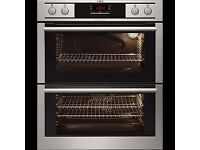 AEG New Integrated Double Oven
