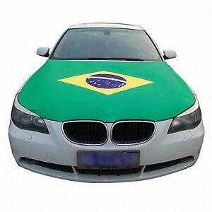 World Cup Car Hood Flags