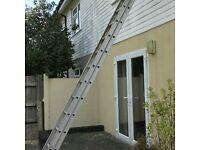 Aluminium extensions ladder