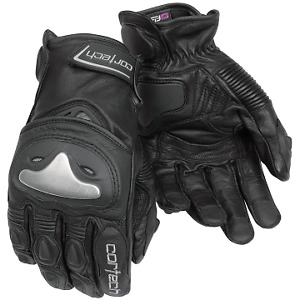 Cortech Vice 2.0 Black Gloves - Large - NEW