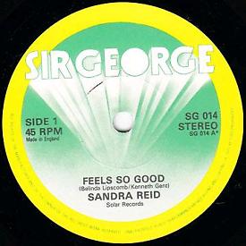 Sandra Reid Feel So Good / Don't Go
