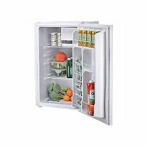 Clean working mini fridge with freezer