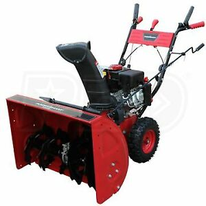PowerSmart 24 in. 212cc Two-Stage Gas Snow Blower Electric start