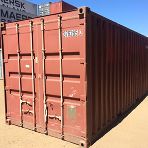 Storage containers that are both weather and wind tight