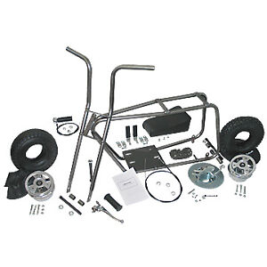 DELTEK DECKSON TACO STYLE VINTAGE MINI BIKE KIT OLD SCHOOL DIY MINI BIKE KIT