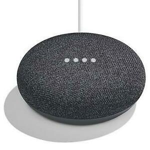 GOOGLE HOME MINI SMART SPEAKER FOR ANY ROOM - CHARCOAL (GA00216-CA) - BRAND NEW $59
