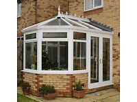 CONSERVATORY FOR SALE. Very good quality, approximately 4.4m long x 3.4m wide.