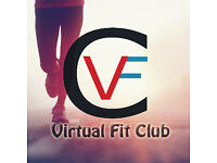 Join Virtual Fit Club UK today! Earn Medals. Help Charity.
