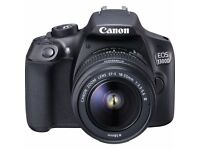 Canon EOS 1300D Kit with 18-55mm III Lens Digital SLR Camera - Black
