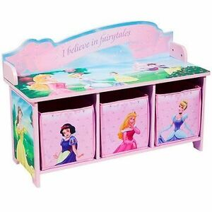 Banc de rangement DISNEY toy storage/bench