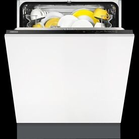 Zanussi ZDT21001FA Full Size 60cm 13 Place Integrated Dishwasher A