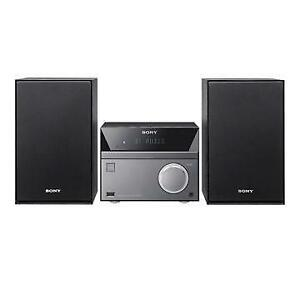 SONY CMT-SBT40D.CEL FM RADIO CD/DVD PLAYER AND MP3 HI-FI SYSTEM WITH BLUETOOTH - REFURBISHED $149