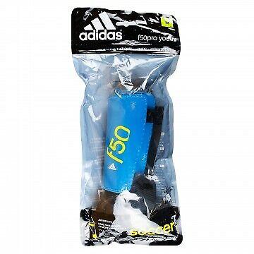 adidas Performance F50 Youth Shin Guard, Solar Blue/Semi Sol
