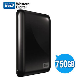 WD 750GB USB My Passport tres peu utiliser, comme neuf avec cabl