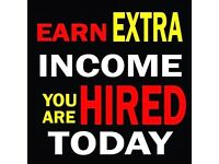 Earn extra income for doing few minutes job from home