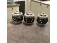 Malaysian earthenware pots