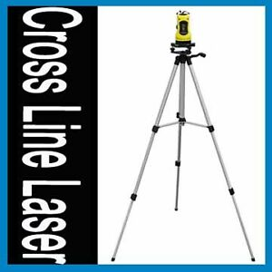 NEW LASER LAZER LEVEL KIT TRIPOD AUTOMATIC RANGE SELF-LEVELING ROTARY LEVELER
