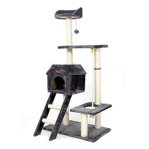 Cat Bed Climbing Tree Scratching Wood Furniture