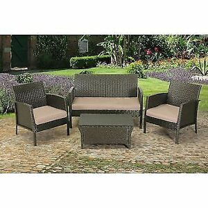 Modern Wicker Patio set