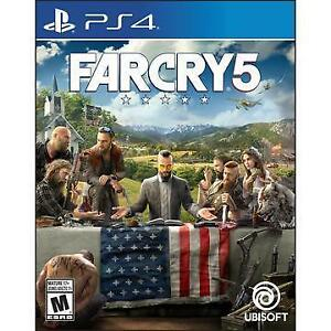 FAR CRY 5 (PS4) - ENGLISH - NEW $59