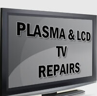 Plasma TV, LCD TV, LED TV Repair Service