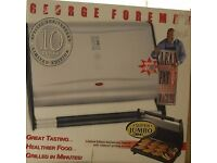 George Foreman Anniversary Grill with Sloped grills, super jumbo size