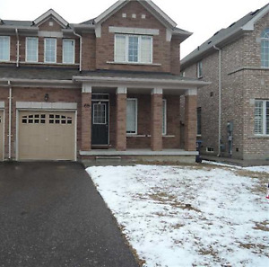 ONLY $2100-BEAUTIFUL 3 BR + 2.5 WSHRM HOME INCL. UNFINISHED BSMT