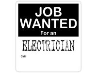 Electrican required full time job