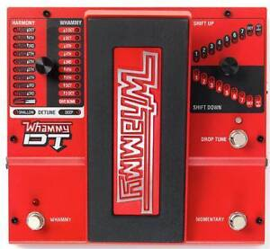 Digitech DT Whammy pedal and foot controller