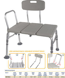 seniors assistance / commode / shower chair