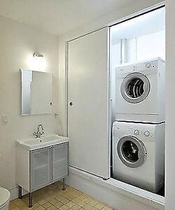 STACKABLE WASHER & DRYER FRONT LOAD UNITS FOR CHEAP SALE ENDS SUNDAY