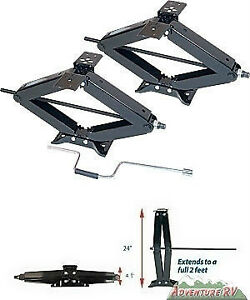 2 PACK RV STABILIZER TRAILER JACK