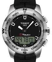 *NEW*Tissot T-Touch II Mens Analog-Digital Watch T0474201705100