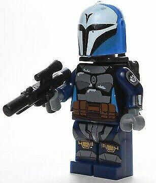 Custom Lego Star Wars Bo-Katan Death Watch Mandolorian Minifigure