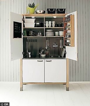 Great Ikea Varde Complete Mini Kitchen In A Cupboard