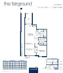 2 Bedrooms - Stacked Townhouse At Kipling And Hwy 7