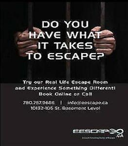 More discount ticket/gift card available at Edmonton Escape Room