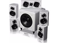 Wharfedale DX-1 HCP 5.1 speaker system - white