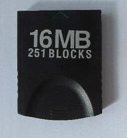 Nintendo 16 Mb (251 blocks) for Gamecube and Wii