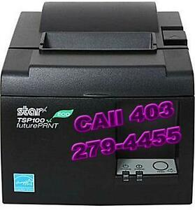 Star Micronics TSP100 ECO POS Receipt Printer, USB, Grey
