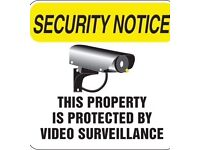 ONLY £149.00 To SUPPLY + FIT CCTV to your property .