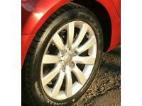 Audi 17 inch alloys genuine multi spoke