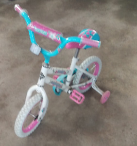 GIRLS 12 INCH  ''FROZEN'' BICYCLE