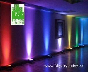 Lighting for parties, events and stage shows. Affordable rentals