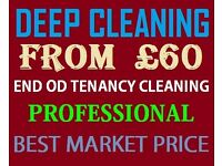End of Tenancy Cleaning from £60 - Regular Cleaning from £10 per hour