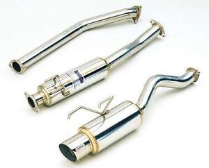 CIVIC ---------cat back exhaust system muffler + pipe