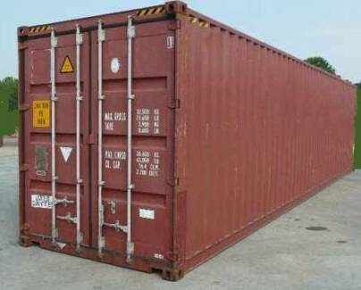 Sea Container 40' High Cube